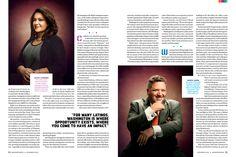 Magazine Spreads, E Magazine, Magazine Articles, Magazine Layout Design, December 2013, Typo, Editorial, Graphics, Graphic Design