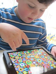 An app that can be used to improve visual attention, visual scanning, figure ground discrimination, visual memory and visual closure.