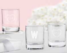Rustic Theme Personalized Shot Glass or Votive Holder (Kate Aspen 30003NA) | Buy at Wedding Favors Unlimited (http://www.weddingfavorsunlimited.com/rustic_theme_personalized_shot_glass_or_votive_holder.html).