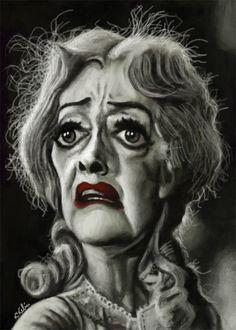 "Kikelin caricaturas.............BETTE DAVIES ES ""BABY JANE"""