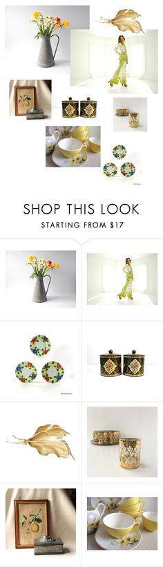 Ringing In an Early Spring by whimzythyme on Polyvore featuring interior, interiors, interior design, home, home decor and interior decorating