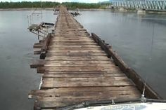 Ponte sobre o rio Vitim - Sibéria