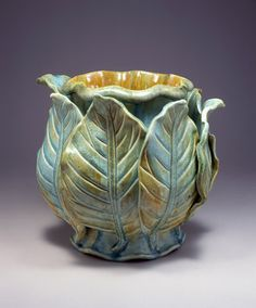 kate malone - beautiful leaf vase