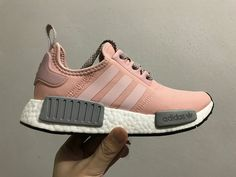 Adidas NMD Popcorn Women Shoes Pink-White