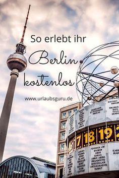 Ein Städtetrip nach Berlin muss kein Vermögen kosten. Die Stadt hat viele kostenlose Angebote. Ihr könnt Stadtführungen machen, Museen besichtigen und coole Events besuchen - und das alles vollkommen umsonst! Mit diesen Tipps, erfahrt ihr wie ihr bei eurer Berlin Reise Geld spart.
