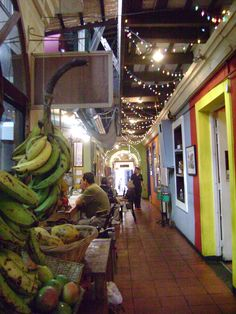 Cafe El Punto Restaurant, San Juan. This place had the best stuffed avocados!