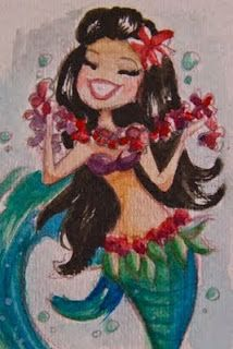 ♥ The Art of Liana Hee ♥: Maui Mermie