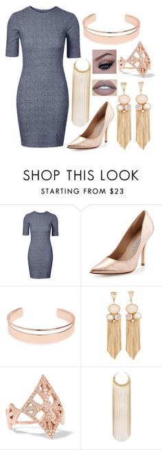 """""""Untitled #1456"""" by sarah-leeanne-steed ❤ liked on Polyvore featuring Charles David, Leith, Carbon & Hyde and Balmain"""