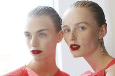 Beauty Trends New York Fashion Week - Hair & Makeup Looks NYFW Spring 2016