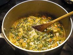 """""""Weed"""" Soup, and Italian spring tradition - Food 52"""