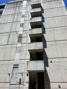 brutalism UNSW Sydney Australia