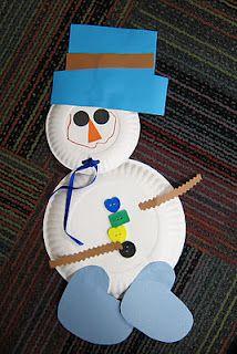 Mrs. Karen's Preschool Ideas: Southern Snowman