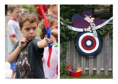 Avengers Birthday Party-love the bullseye!!