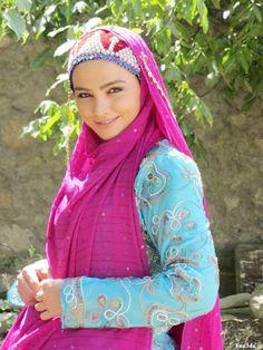 Bakhtiari traditional dress of Iran