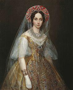 Grand Duchess Maria Alexandrovna by Ivan Makarov