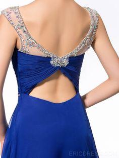 A similar back for a wedding dress?
