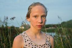 Leva, Latvia, 2015 Beata Stencel: 'There are only a few people we meet, that will stay with us forever. I met Ieva during my trip to a small village in Latvia. Her ability to see beauty is what stood out'