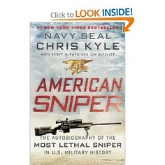 An autobiography of the MOST LETHAL SNIPER in US Military History - AMAZING!