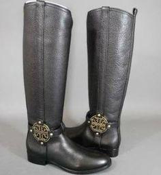 Tory Burch Amanda Riding Boots. LOVE THEM.