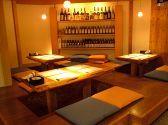 Okayama|岡山(おかやま)|「ありき」|木の温もりが溢れる店内。16名様まで宴会にも使える掘りごたつ。少人数でもご利用できます。