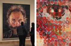 Lucas Samaras Paintings Chuck close - wikipedia, the free encyclopedia
