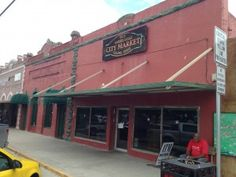 Outside of the City Market Luling Texas