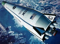 "McDonnell Douglas ""X-33"" - Design Proposal for the (Autonomous) (SSTO RLV) Was to Serve as a Technology Demonstrator of a Single-Stage-To-Orbit Space Plane"