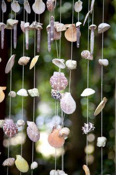 sea shells crafts ideas | on seashells seashell vase fill a tall glass vase with seashells ...