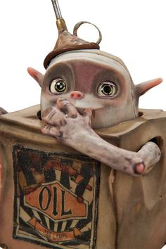 Animation Art:Maquette, The Boxtrolls Oil Can Original Animation Puppet (LAIKA,2014).... Image #3