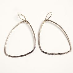 Flyaway Earrings in Silver