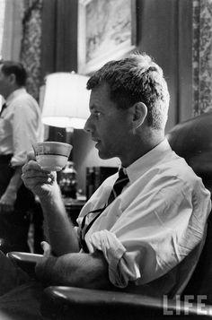 Bobby Kennedy Date taken: 1961 Photographer: Edward Clark