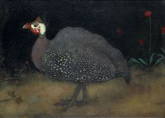 Parelhoen (Guinea Fowl), 1917 by Jan Mankes on Curiator, the world's biggest collaborative art collection. Political Art, Dutch Painters, Dutch Artists, Collaborative Art, African Animals, Museum Of Modern Art, Animal Paintings, Pet Portraits, Lovers Art
