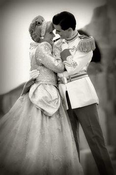 Cinderella & Charming at Disney World