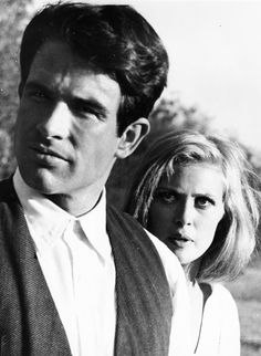 Bonnie and Clyde (1967): Warren Beatty and Faye Dunaway - another favorite cinematic couple