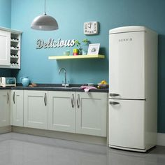 Like us on Facebook to Win one of our Retro Fridge Freezers -http://on.fb.me/102fuCJ - shown here in nice article on Retro to Go