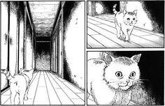 junji ito has a way with drawing cats