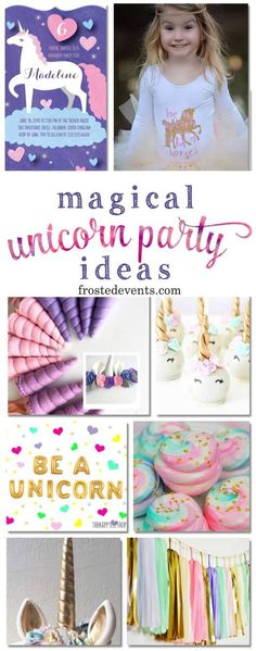 Unicorn Party Decora