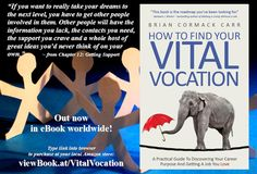 Vital Vocation quote 3 Other People, Dreaming Of You, Career, This Book, How To Get, Sayings, Creative, Quotes, Books