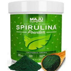 Free Shipping. Buy MAJU's Spirulina Powder: California Grown, Non-Irradiated, Non-GMO at Walmart.com