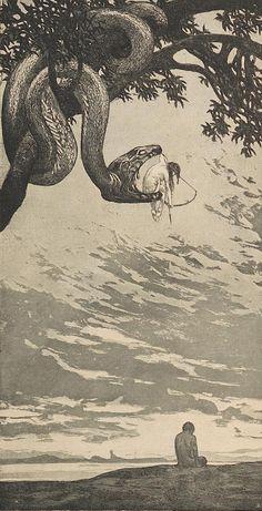 #Ilustracion de Fritz Hegenbart