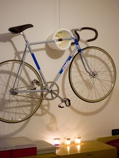 I need to find a spot to hang my bike