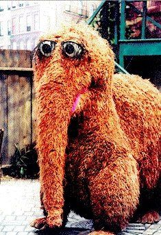 "i remember when Snuffy was allowed to be Big Bird imaginary friend. That was before Seasame Street decided that ""creative"" was too close to ""crazy"" in the dictionary."
