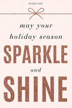 Make this season shine extra bright with festive shimmering makeup looks! | Mary Kay