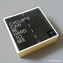 Safe Cycling Sticker Set / 100copies