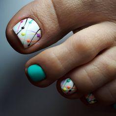 nail art designs for spring / nail art designs ; nail art designs for spring ; nail art designs for winter ; nail art designs with glitter ; nail art designs with rhinestones Pretty Toe Nails, Cute Toe Nails, Easy Nails, Simple Nails, Gel Nails, Coffin Nails, Glitter Toe Nails, Acrylic Nails, Toenails