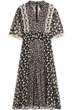 Anna Sui - Printed Silk Dress
