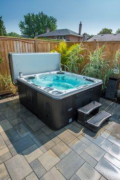 86 best hot tub install ideas images jacuzzi hot tub backyard rh pinterest com