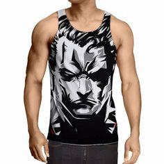 5268af15d3b65d Super Hero Graphic Tanks - Wolverine
