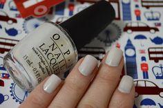 Funny Bunny by O.P.I, a fancy white nail polish. #nails #opi #esmalte #branco