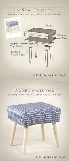 Ingenioso taburete DIY - Muy Ingenioso